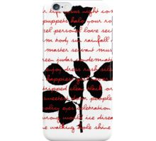 Red Violator I iPhone Case/Skin