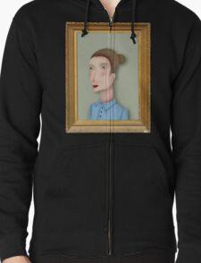 Woman portrait by RADIOBOY T-Shirt