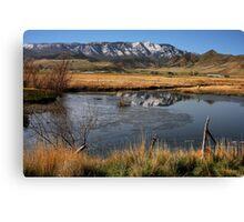 Rustic Utah Canvas Print