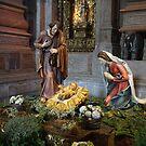 Saint Mary, Jesus and Saint Joseph in Jerónimos Monastery by Silvia Neto