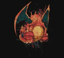Pokemon - Charizard Splatter by Domadraghi