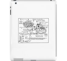 Retro Portable Tape Recorder (from the Vintage Magazine series) iPad Case/Skin