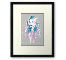Kate Moss Framed Print
