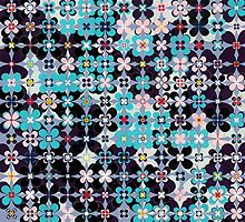flower tile 1 by BLIXICON