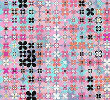 flower tile 2 by BLIXICON