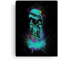 Neon Burster Canvas Print