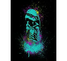 Neon Burster Photographic Print