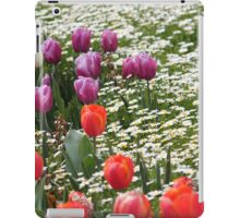 Field of Tulips and Daisies - Canberra Floriade iPad Case/Skin