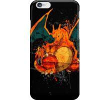 Pokemon - Charizard Splatter iPhone Case/Skin