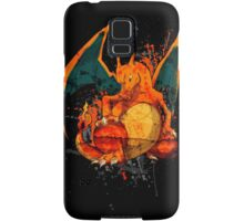Pokemon - Charizard Splatter Samsung Galaxy Case/Skin