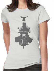 Magpie Swoop Womens Fitted T-Shirt
