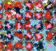 flower pattern 8 by BLIXICON