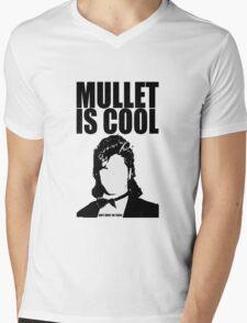 MULLET IS COOL Mens V-Neck T-Shirt