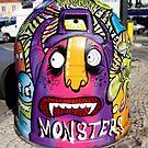 Portugal Graffiti Street Art Nr. 01 by Silvia Neto