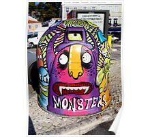 Portugal Graffiti Street Art Nr. 01 Poster