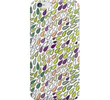 Rainy day pattern. Spring version iPhone Case/Skin