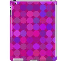 Funny lilac circles iPad Case/Skin
