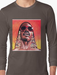 - Stevie Wonder - Long Sleeve T-Shirt