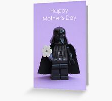 Vader's Flower - Mother's Day Card Greeting Card