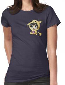 Chibi Pikachu Womens Fitted T-Shirt
