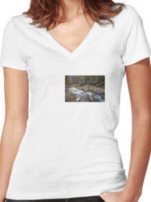 Full of treasures: Dukes Creek (II) Women's Fitted V-Neck T-Shirt