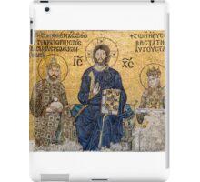 Empress Zoe mosaics inside Hagia Sophia, Istanbul (Constantinople) iPad Case/Skin