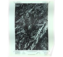 Maine USGS Historical Map Misery Knob 806922 1977 24000 Poster