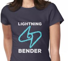 Lightning Bender and Proud Womens Fitted T-Shirt