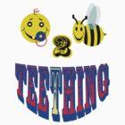 happy 2 bee teething by gruntpig