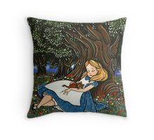 - Alice #2 - Throw Pillow