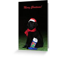 Logan Claus Greeting Card