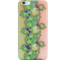 Fractal in Green & Pink iPhone Case/Skin