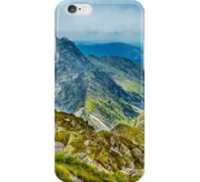 Fagaras mountain range in Romania iPhone Case/Skin