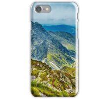 Fagaras mountain range in Romania iPhone Case/Skin