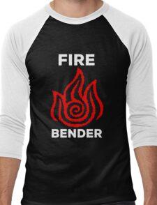 Fire Bender and Proud Men's Baseball ¾ T-Shirt