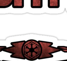 Star Wars Sith Sticker