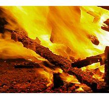 Burning remains Photographic Print
