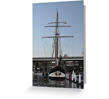 "Tall Ship ""Oosterschelde"", Sydney, Australia 2013 Greeting Card"