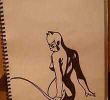 Catwoman! by drjones