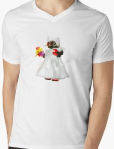 Bridebot Mens V-Neck T-Shirt
