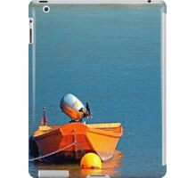 Boat on the river | landscape photography iPad Case/Skin