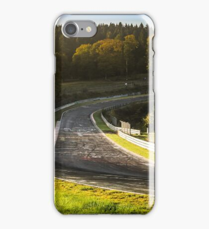 Nürburgring Nordschleife: Dawn at Brünnchen iPhone Case/Skin