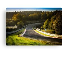 Nürburgring Nordschleife: Dawn at Brünnchen Canvas Print