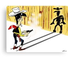 Lucky Luke - TAKE 2 Canvas Print