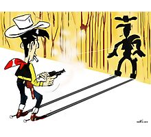 Lucky Luke - TAKE 2 Photographic Print