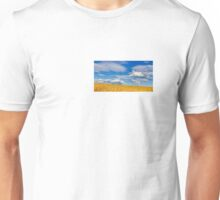 Painting with light: Farmland and wind turbines Unisex T-Shirt