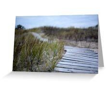Dune Boardwalk Greeting Card