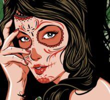 Dead Girl Sticker