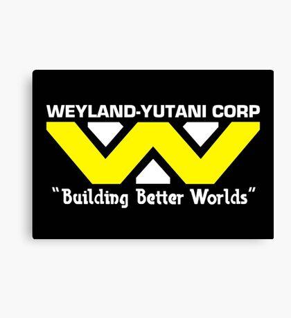Weyland-Yutani Corp Canvas Print