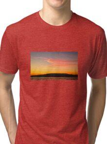 Lake Constance - Sunset Tri-blend T-Shirt